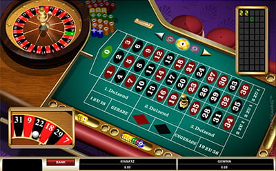 Home roulette game