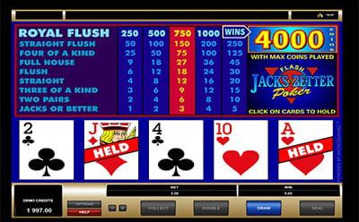 Extension apps genieгџen sie klassisches video poker mit einem spiel jacks or better monticello strategy