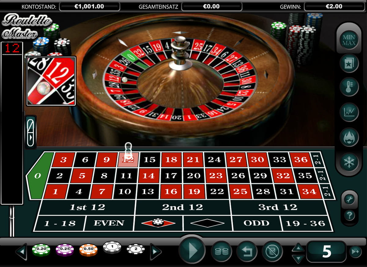 Spiele Roulette Master Portugal - Video Slots Online